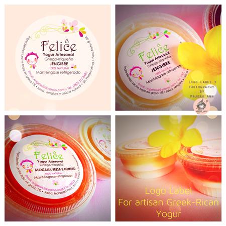 collage yogur product by Majeak Ann