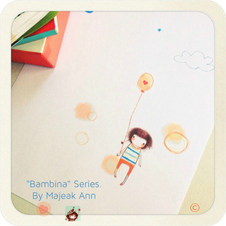 bambina series by majeak ann copyrighted