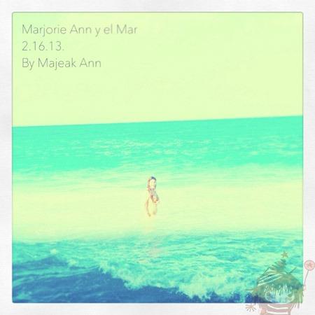 marjorie y el mar by majeakann