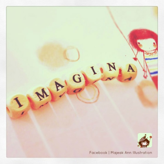 imagine by majeak ann