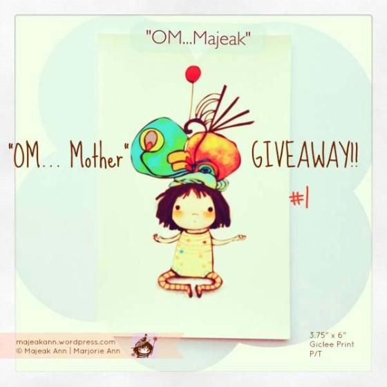 """""""Om... Mother GiveAway"""" by Majeak Ann"""