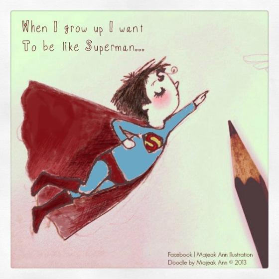 superman boy by majeak ann color