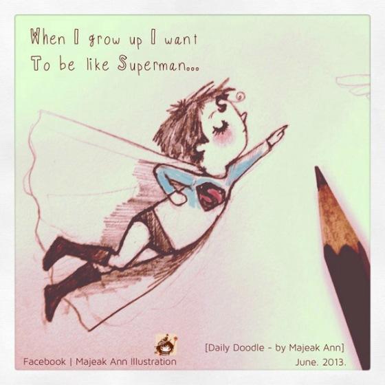 superman boy by majeak ann3