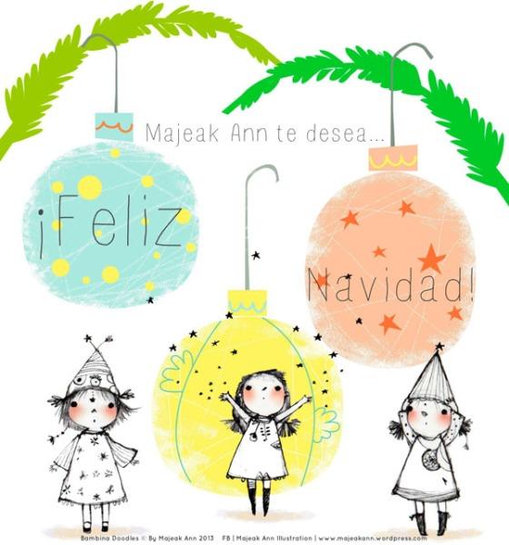 Merry Xmas 2013 by Majeak Ann