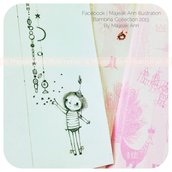 Little acts of love doodle by Majeak Ann