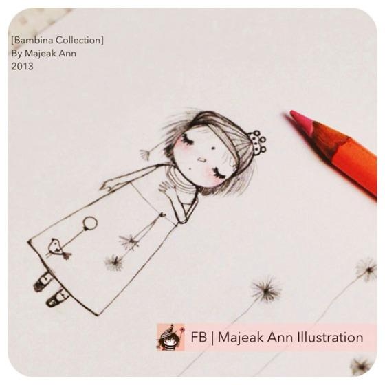 sun inside love2 bambina doodle by majeakann