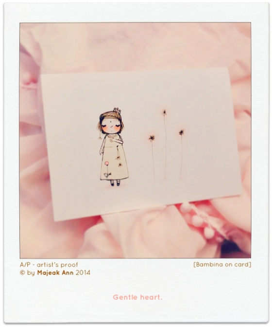 1-blog- Gentle heart card bambina by Majeak Ann